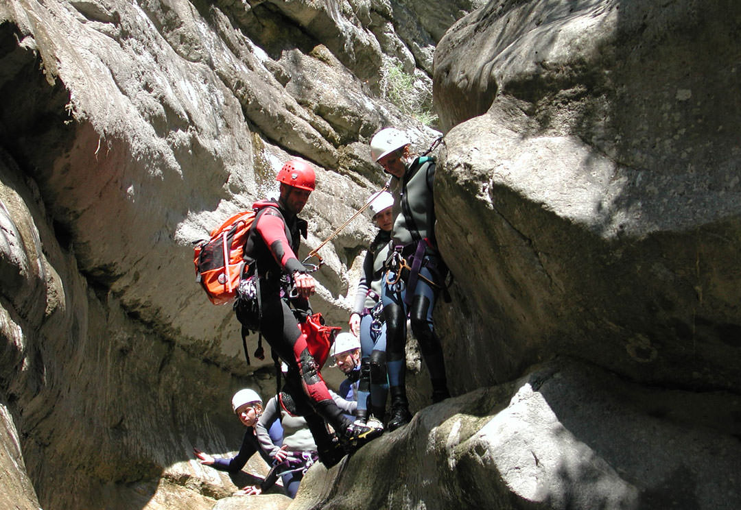 Canyoning-Ausflüge sind ideal